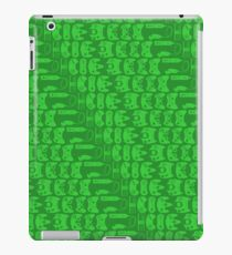 Video Game Controllers - Green iPad Case/Skin