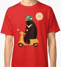 scooter bear Classic T-Shirt
