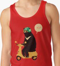 scooter bear Tank Top