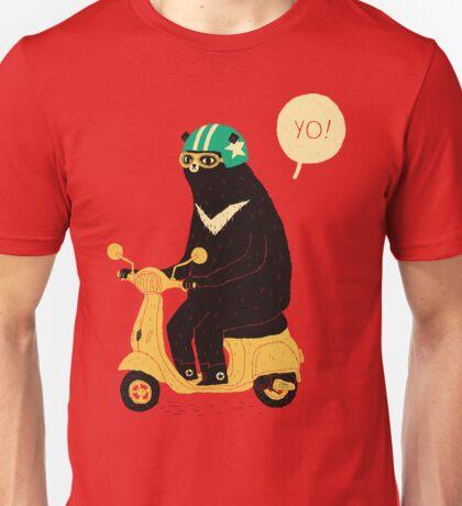 scooter bear Unisex T-Shirt