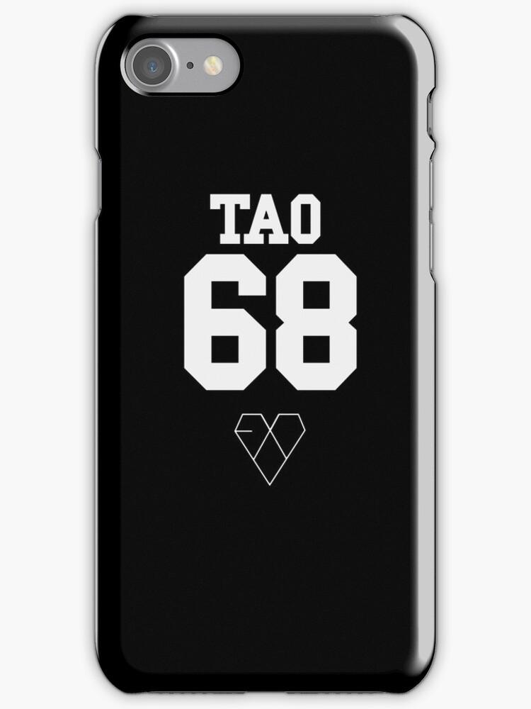 EXO JERSEY (TAO) PHONE CASE by dakotaspine
