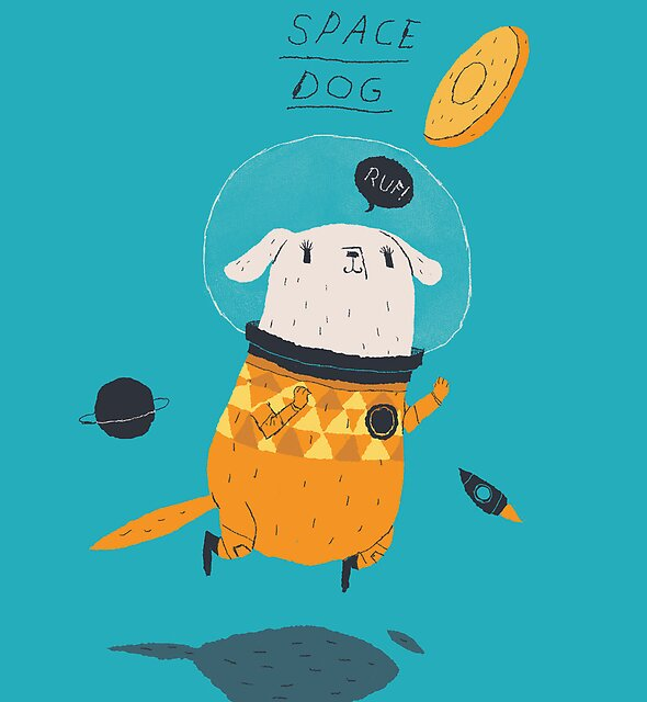 space dog by louros