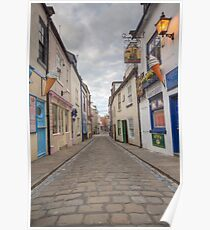 whitby main street at 5 am  Poster