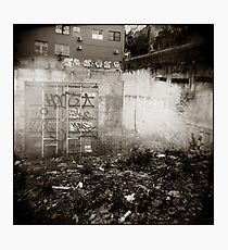 { lonely corner } Photographic Print