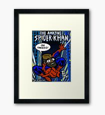Citizen Khan - Spider-Khan Framed Print