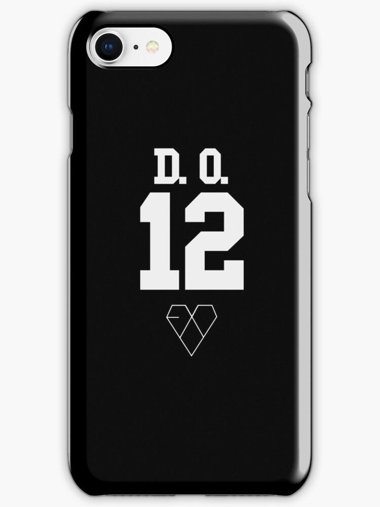 EXO JERSEY (D.O.) PHONE CASE by dakotaspine