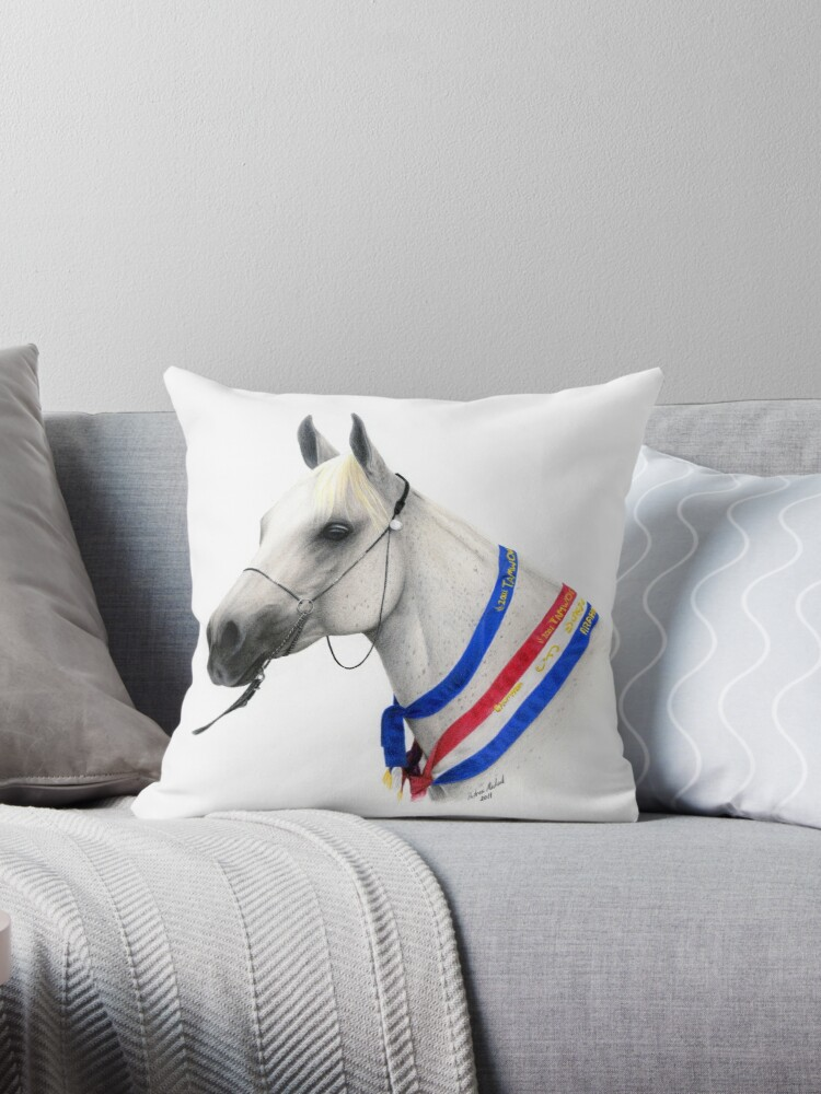Summerwood Nicolette - Arabian Mare Horse Portrait by Andrea Michael