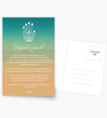 Affirmation - Personal Growth Postcards