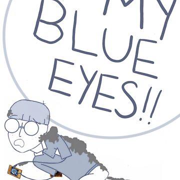 My Blue Eyes!! by childishgavino