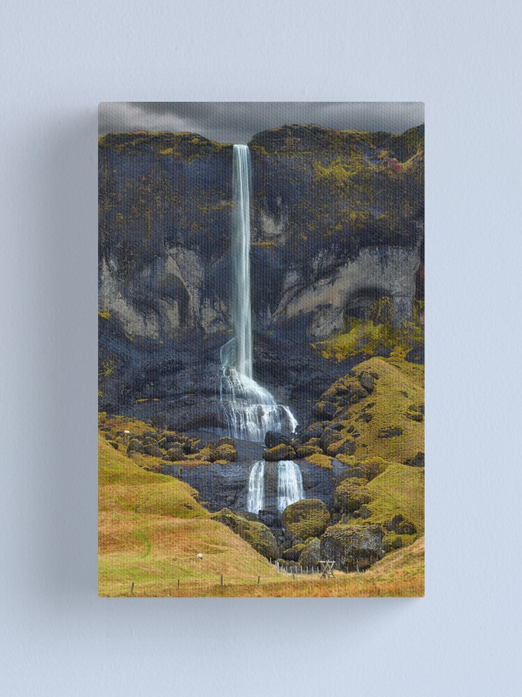 Alternate view of Delicate Falls Canvas Print