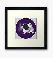 Goldfish Mrs. Hudson Framed Print