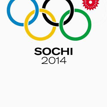 Sochi Rings by rafix
