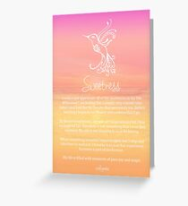 Affirmation ~ SWEETNESS Greeting Card