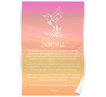 Affirmation ~ SWEETNESS Poster