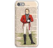Jane Austen - Sense and Sensibility - Colonel Brandon iPhone Case/Skin