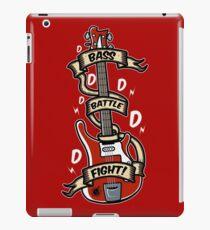 Bass Battle Fight! iPad Case/Skin