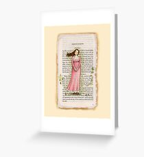 Jane Austen - Persuasion - Anne Elliot Greeting Card