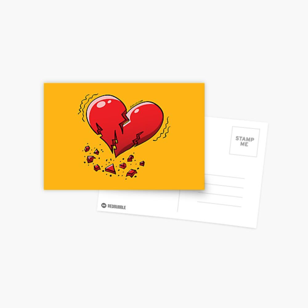 Extreme Heartquake Postcard