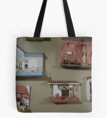Wall of Houses Tote Bag