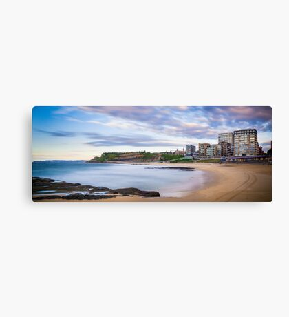 Newcastle Beach Sunrise Canvas Print