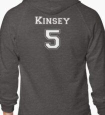 Kinsey5 - White Lettering T-Shirt