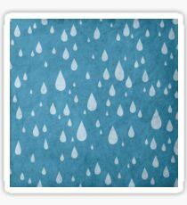 Raindrops or tears?  Sticker