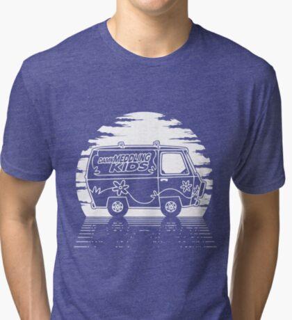 Damn Meddling Kids Tri-blend T-Shirt