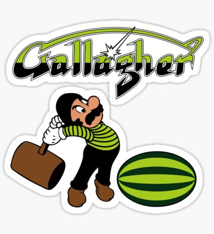 Gallagher Sticker