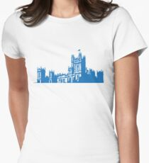 Downton skyline Women's Fitted T-Shirt