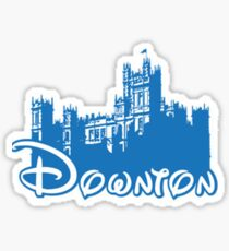 Downton Abbey Again Sticker