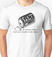 PJSalt V1 (schwarzer Text) Unisex T-Shirt