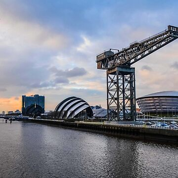 Clydeside Sunset by S-Shadowman