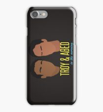 Troy & Abed in the Morning iPhone Case/Skin