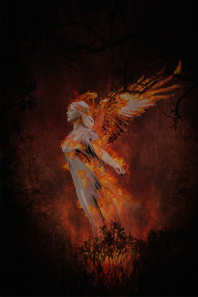 Fire Angel by Dave Godden