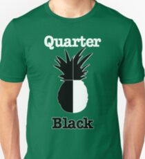Quarter Black Unisex T-Shirt