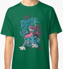 Zombie Unicorn Attacks Classic T-Shirt