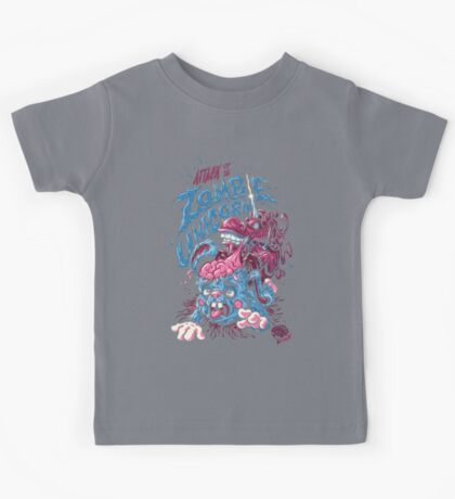 Zombie Unicorn Attacks Kids Clothes