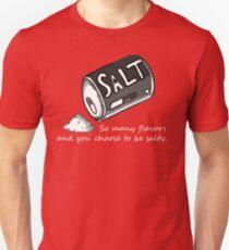 PJSalt V2 (white text) T-Shirt