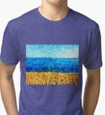sea sky sand Tri-blend T-Shirt