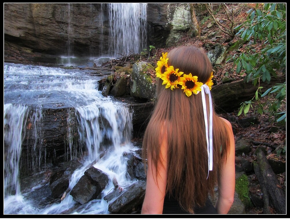 Sunflower Waterfall by Dieselboutique