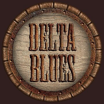 Wonderful Delta Blues Wood & Rust by adlirman