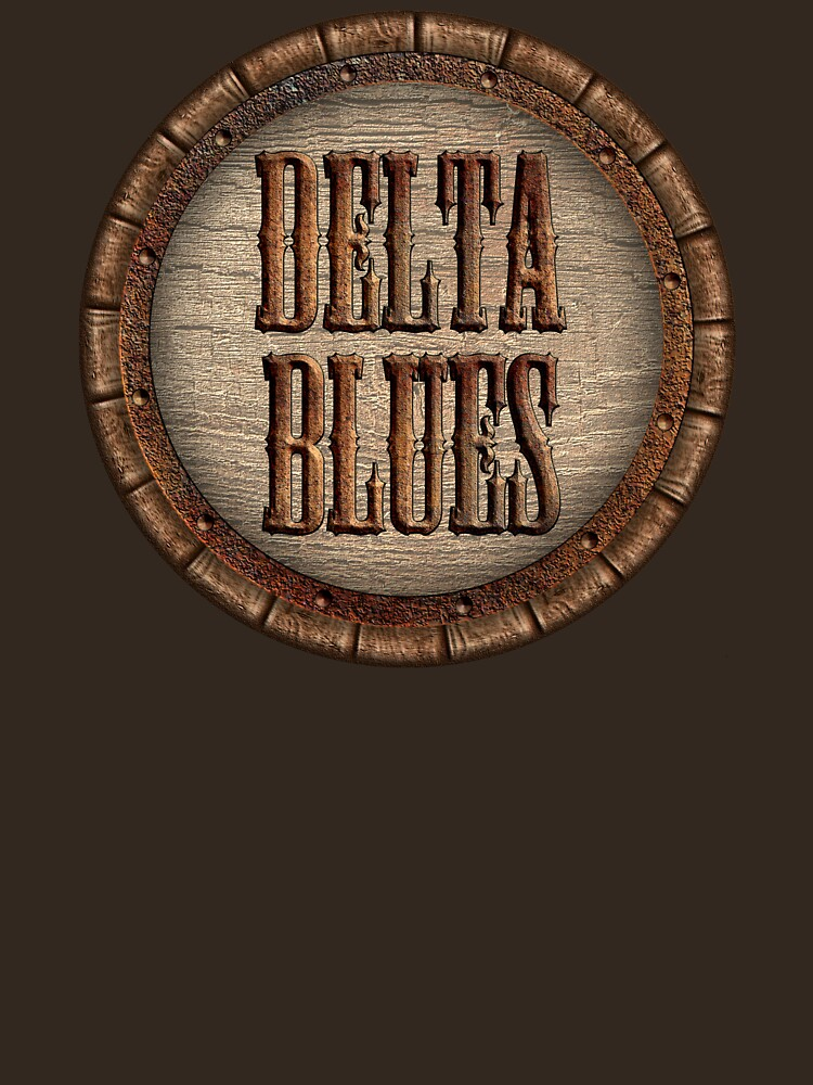 Wonderful Delta Blues Wood & Rust by adlirman