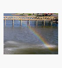 Water Bow Photographic Print