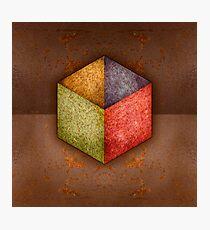 Steel Box, Open Top RGB Photographic Print