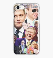martin freeman collage iPhone Case/Skin