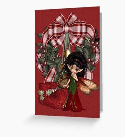 Christmas Fae Greeting Card