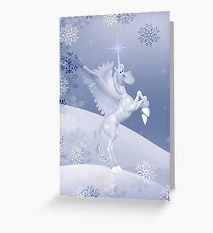 Christmas Fantasy Greeting Card
