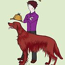 Young Sherlock & Redbeard, Consulting Detectives by NadddynOpheliah