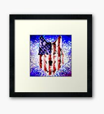 wolf USA Framed Print