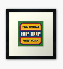 The Bronx Hip Hop Framed Print
